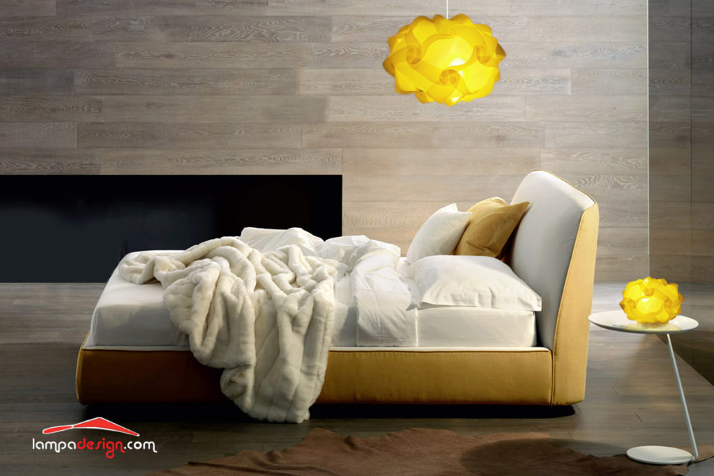 Abat Jour Per Camera Da Letto. Lampada Da Comodino Design With Abat ...